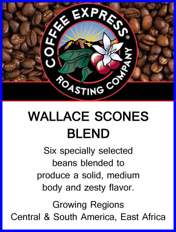 Wallace Scones Coffee Blend