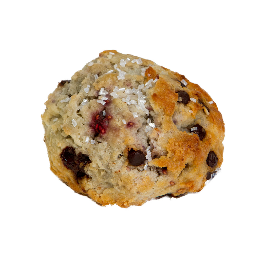 Raspberry Chocolate Chip Scones
